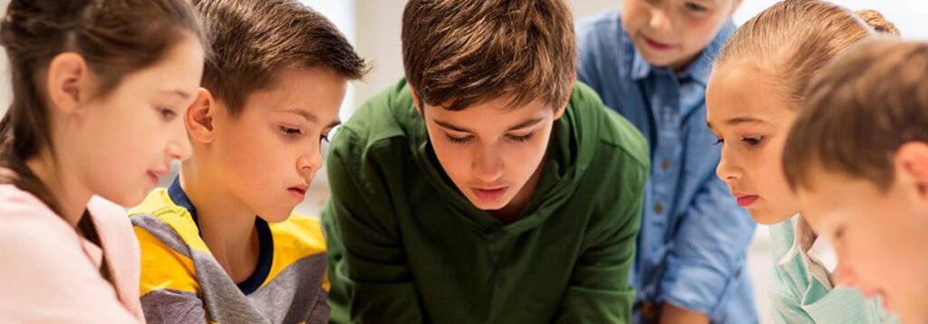 Aprendizaje colaborativo en colegio Durango