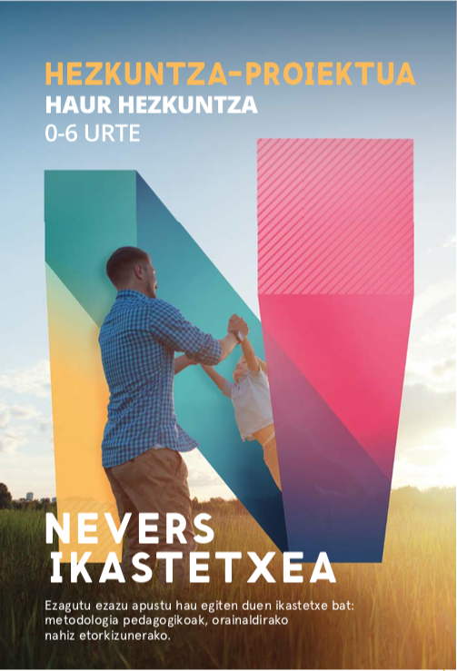 Nevers portada e-book hezkuntza-proiektua