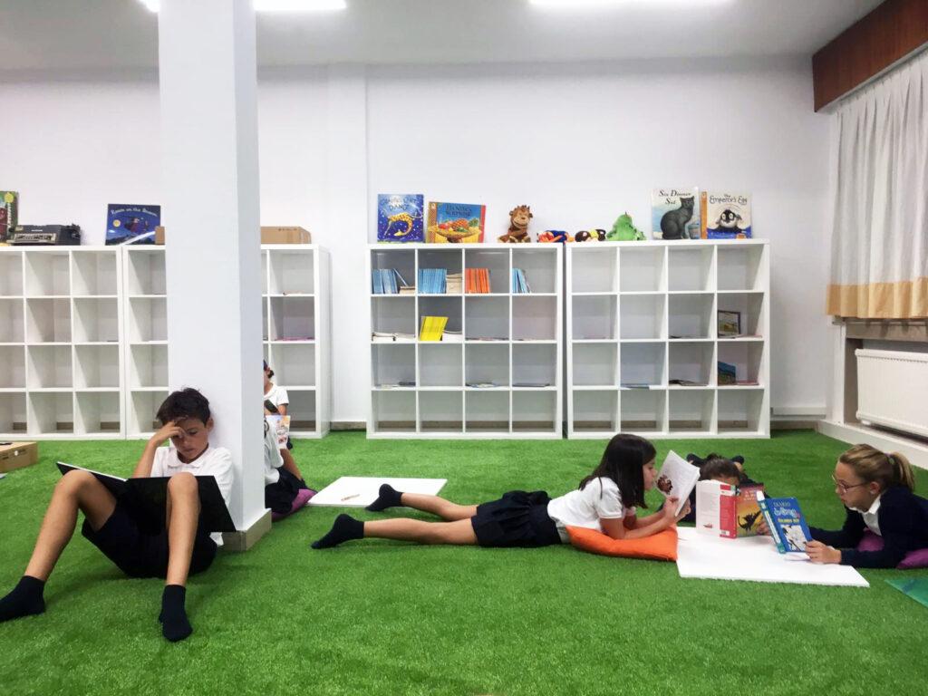 sala de lectura Nevers